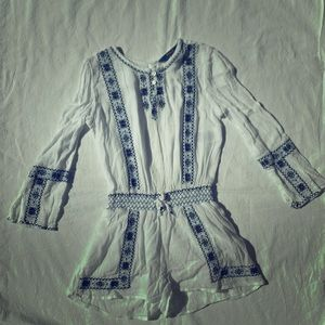 Polo Ralph Lauren Girl Jumpsuit Sz Small (6yr)